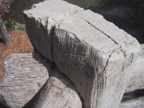 Wood or Concrete